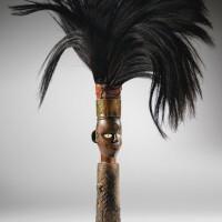 97. chasse-mouches, dondo/bwende, république démocratique du congo |