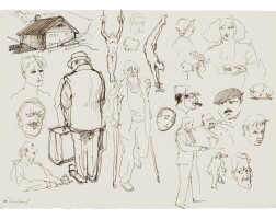 84. wayne thiebaud (b. 1920)   untitled, 1996