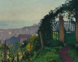 109. albert marquet | le portail dans la verdure