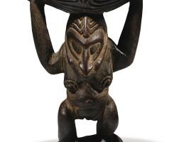 6. statuette cariatide, sepik, papouasie-nouvelle-guinée |