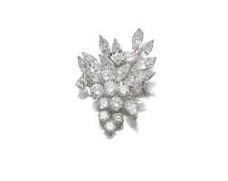 717. diamond brooch, boucheron