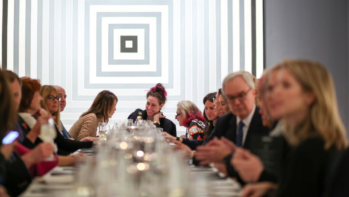 Sotheby's celebrates Contemporary Art : with a dinner by Angie Mar of the Beatrice Inn