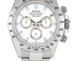 2008. 勞力士 | 116520型號「cosmograph daytona」精鋼計時鍊帶腕錶,錶殼編號a00f8724,約2014年製。