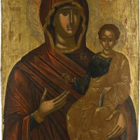559. hodegetria mother of god, veneto-cretan, 16th century |