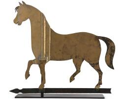 1229. prancing horseamerican school, 19th century | prancing horseamerican school, 19th century