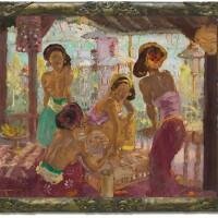 1051. 勒邁耶 | 陽台上的峇里少女