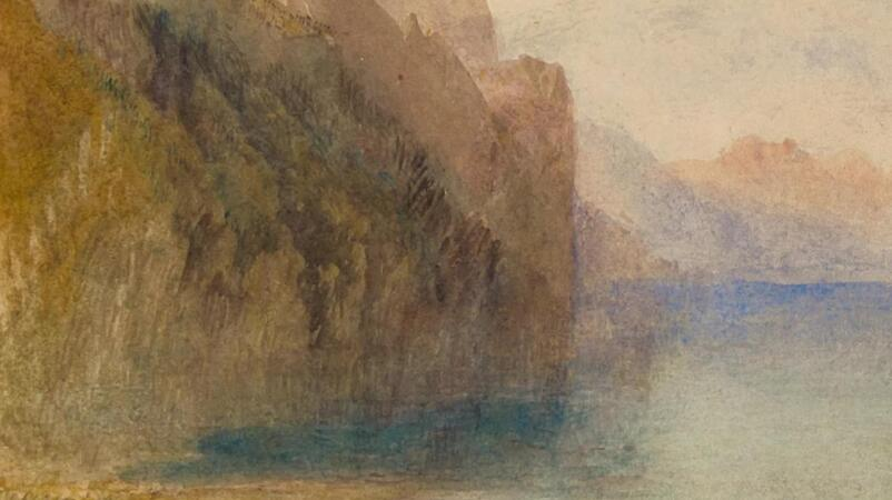 A Luminous Landscape by Turner Transcends Its Time