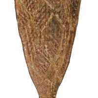 11. a tiwi ceremonial club, irrawella early 20th century