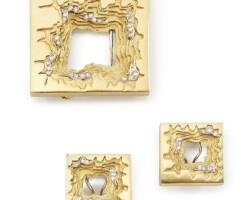 501. diamond demi-parure, h. stern