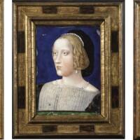 6. france, limoges, xixe siècle, à la manière de léonard limosin (1505-1575)
