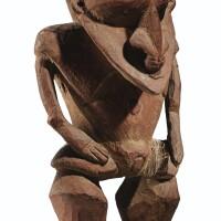 41. statuette, murik, embouchure du fleuve sepik, papouasie nouvelle-guinée