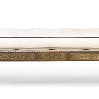 30. a regency brass-inlaid and parcel-gilt rosewood daybed circa 1815