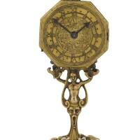 9. 德國製 | 文藝復興時期銅鎏金小型天文座鐘,年份約1580或之後