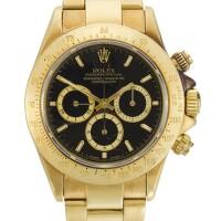 11. rolex | daytona four lines, reference 16528 yellow gold chronograph wristwatch with bracelet circa 1988