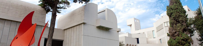 Exterior View, Fundació Joan Miró