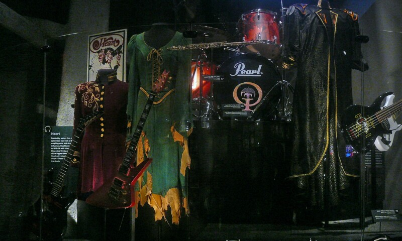Interior view of the Museum of Pop Culture, Seattle.
