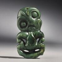 108. maori pendant, new zealand