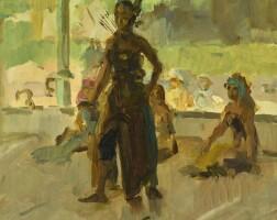 2. isaac israels | javanese dancer
