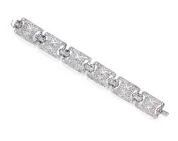 59. diamond bracelet, early 20th century