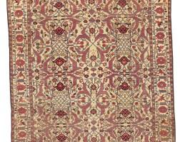 125. a heriz carpet, northwest persia