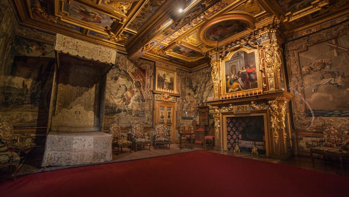 Interior View, Château de Cheverny