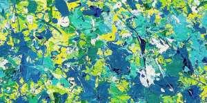Walasse Ting | September rains in your eyes