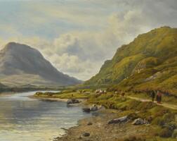 22. bartholomew colles watkins, r.h.a. | kylemore lake, connemara