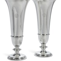 7. a pair of american silver vases, tiffany & co., new york, circa 1926 |