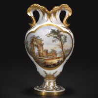 19. 塞夫爾硬瓷花瓶 1773年,尼古拉·施拉德爾繪製 |