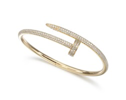 1. diamond bangle, 'juste un clou', cartier