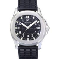 1. 百達翡麗(patek philippe) | 5064a型號「aquanaut」精鋼腕錶備日期顯示,2006年製。