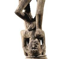 46. dayak figure, bornéo, indonesia  