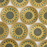 53. a set of twelve russian dinner plates from the kremlin service, imperial porcelain manufactory, st. petersburg, period of nicholas i (1825-1855)