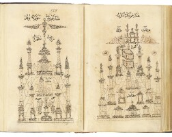 43. a collection of prayers including a qasida al-burda, and drawings by abd al-qadir hisari, turkey, ottoman, dated between 1009 ah/1600 ad and 1180 ah/1766 ad  