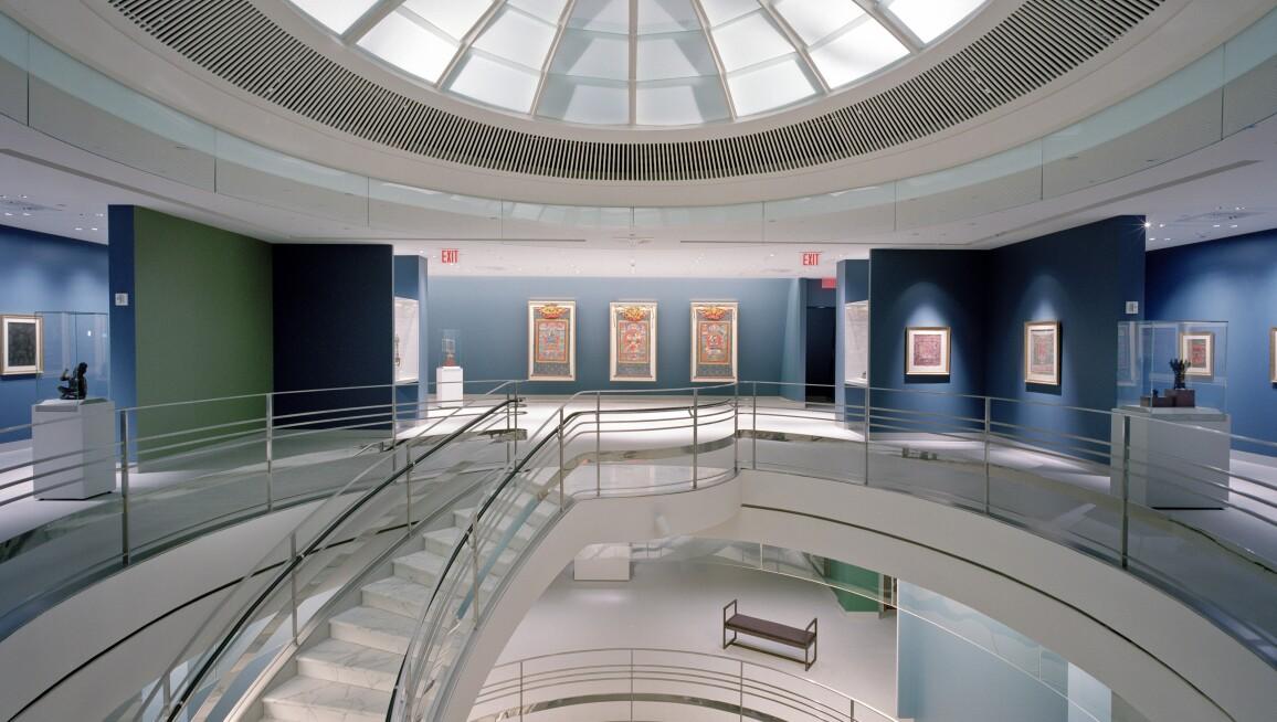 Interior View, Rubin Museum of Art
