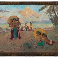 1055. 勒邁耶 | 海灘上的女子