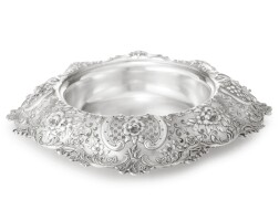 112. an american silver centerpiece bowl, tiffany & co., new york, circa 1895