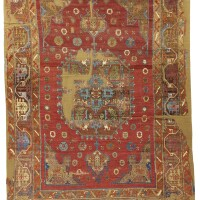 63. a konya rug fragment, south central anatolia