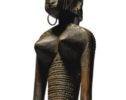 4. bamana female figure, mali