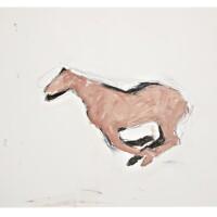 123. susan rothenberg | pink running horse