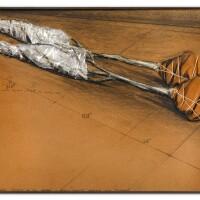 128. christo | two wrapped trees