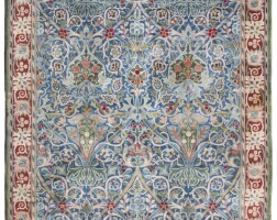 1041. a william morris 'hammersmith' carpet, hand knotted for morris & co, designed by john henry dearle