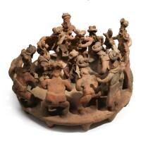 26. jalisco ceremonial platform group, protoclassic, ca. 100 b.c.-a.d. 250