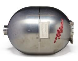 38. apollo command module reaction-control system propellant tank