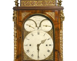 48. a george iii gilt-mounted mahogany quarter chiming and musical table clock for the spanish market, james (diego) evans, london, circa 1780  