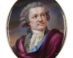 304. nicolas soret | portrait of count alexander sergeevich stroganoff (1733-1811)