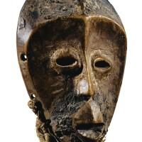136. masquette, lega, république démocratique du congo  