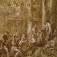 16. sir anthony van dyck | the adoration of the shepherds