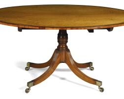 733. a regency mahogany breakfast table, circa 1810
