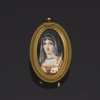 43. 瑪麗亞·萊蒂西亞·波拿巴/法蘭西皇太后肖像象牙細密畫,法國畫派,約1810年 | 瑪麗亞·萊蒂西亞·波拿巴/法蘭西皇太后肖像象牙細密畫,法國畫派,約1810年